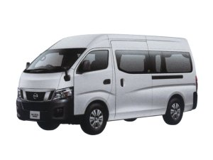 Nissan NV350 Caravan Van DX (2WD, Gasoline) Super Long Body, High Roof, Standard Width, Low Floor, 9-passenger, 4 Doors 2016 г.