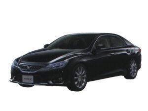 Toyota Mark X 350S 2016 г.