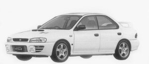 Subaru Impreza HARD TOP SEDAN WRX-RA STi Ver.III 1996 г.