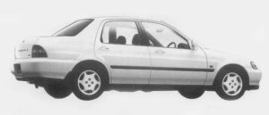 Honda Domani Gi 4WD 1996 г.