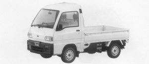 Subaru Sambar Truck HIGH ROOF SDX 1996 г.