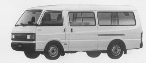 Mazda Ford J80 VAN HIGH ROOF 5DOOR WIDE LOW 2200 DIESEL 1996 г.