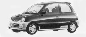 Mitsubishi Minica 3DOOR DANGAN 1996 г.