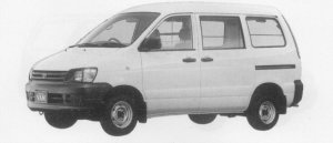 Toyota Townace VAN 2WD SUPER SINGLE, JUST LOW HIGH ROOF 1996 г.