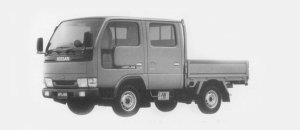 Nissan Atlas 4WD 0.75T DOUBLE CAB, SUPER LOW DX 1996 г.