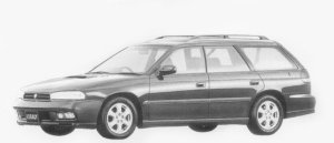 Subaru Legacy TOURING WAGON GT 1996 г.