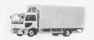 Nissan Diesel Condor WING VAN 1996 г.
