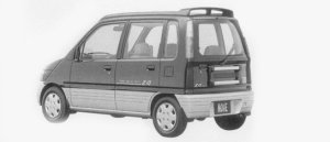 Daihatsu Move Z4 1996 г.