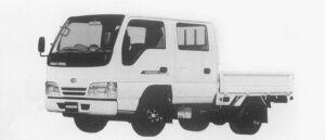 Nissan Diesel Condor 20 DOUBLE CAB STANDARD SUPER LOW 1996 г.