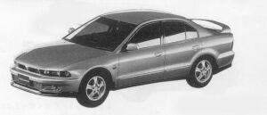 Mitsubishi Galant VR-4 TYPE S 1996 г.