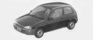 Toyota Starlet REFLET 3DOOR 1996 г.