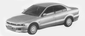 Mitsubishi Galant VR-G 1996 г.