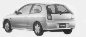 Mitsubishi Mirage 3DOOR X 1996 г.