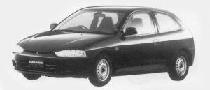Mitsubishi Mirage 3DOOR F 1996 г.