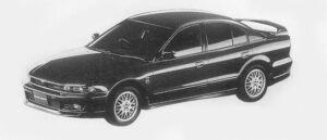 Mitsubishi Galant VR-4 1996 г.