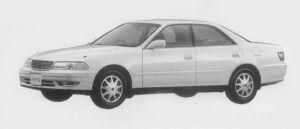 Toyota Mark II 3.0 GRANDE G 1996 г.