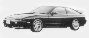 Nissan 180SX TYPE S 1996 г.