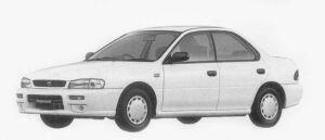 Subaru Impreza HARD TOP SEDAN CF 1996 г.