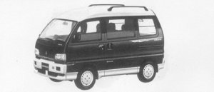Mitsubishi Bravo 4WD SUPER EXCEED HIGH ROOF 1996 г.