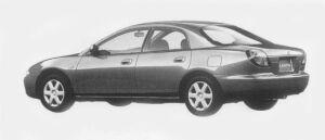 Mazda Lantis SEDAN TYPE X 1800 1996 г.