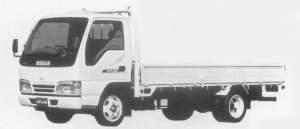 Nissan Atlas 2T HIGH CAB, SUPER LOW, LONG BODY CUSTOM 1996 г.
