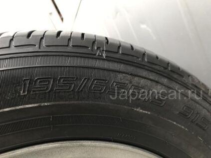 Летниe шины Dunlop Enasave ec202 195/65 15 дюймов б/у во Владивостоке