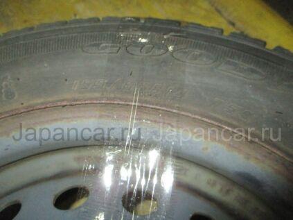 Зимние шины Goodyear Ice navi zea 2 155/65 14 дюймов б/у в Новосибирске
