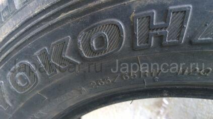 Всесезонные шины Япония Ёкогама 265/65 17 дюймов б/у в Спасске-Дальнем