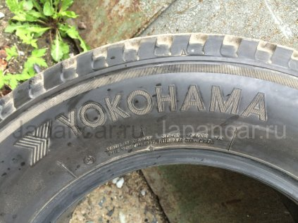 Всесезонные шины Yokohama Super digger-v 205/70 15 дюймов б/у во Владивостоке