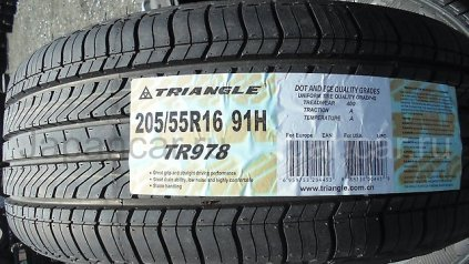 Летниe шины Triangle group Tr978 205/55 16 дюймов новые во Владивостоке