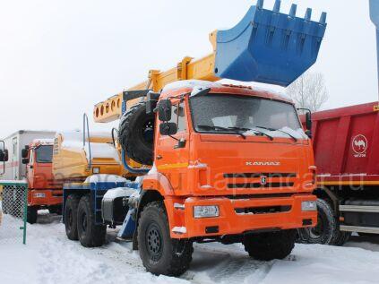 Экскаватор КАМАЗ UDS 114 на шасси КамАЗ-43118 в Москве