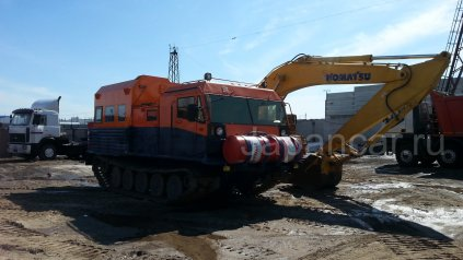 Вездеход ПРОМТРАКТОР ТМ-120 с жилым модулем. ОТС!!! 2004 года в Тюмени