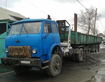 Лесовоз МАЗ 509 А 1985 года в Новосибирске