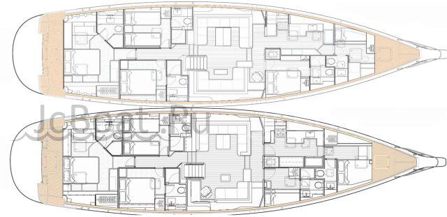 яхта парусная KA80 2019 года