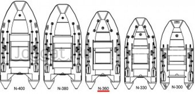 лодка ПВХ КАЙМАН N400E 2018 года