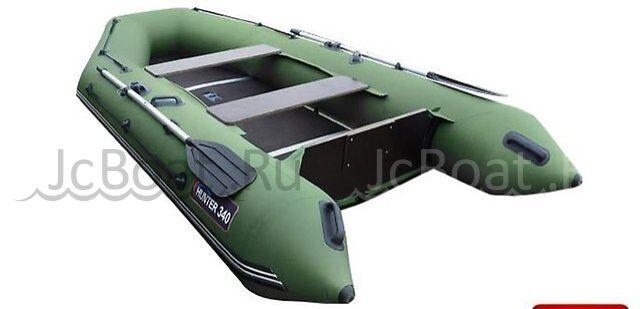 лодка лодка Хантер 340 зеленая 2016 г.