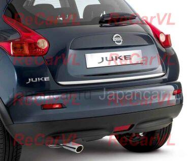 Накладка задней двери под номер на Nissan Juke во Владивостоке