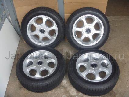 Всесезонные колеса Bridgestone blizzak revo2 185/60 15 дюймов Bridgestone б/у в Краснодаре