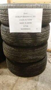 Грязевые шины Dunlop Enasave ec202 215/45 17 дюймов б/у в Бийске