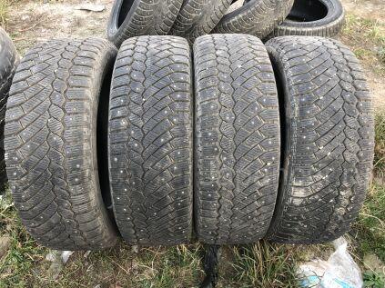 Зимние шины Continental 235/60 18 дюймов б/у во Владивостоке