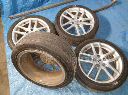 Летнии колеса Bridgestone Ecopia pz-x 215/45 17 дюймов Honda б/у в Барнауле