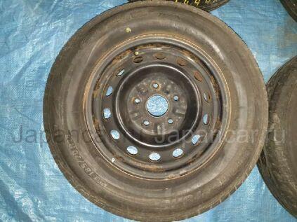 Летниe колеса Bridgestone Ecopia 185/70 14 дюймов Toyota б/у в Барнауле