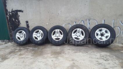 Летнии колеса Bridgestone 265/70 16 дюймов Toyota б/у во Владивостоке