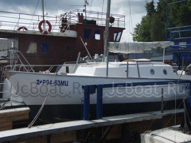 яхта парусная четвертьтонник самострой 1981 года