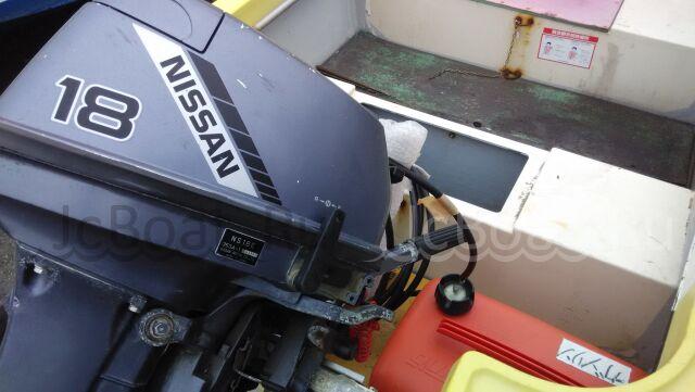 лодка пластиковая NISSAN MARINE FR15 2001 года