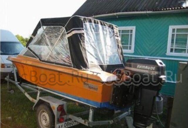 лодка пластиковая FINNSPORT 450 +Мотор 50л.с. +Прицеп 1992 г.