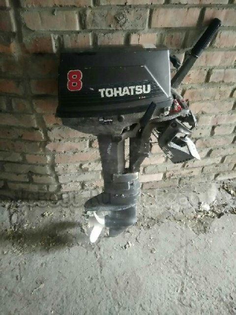 мотор подвесной TOHATSU 3B2-S 1998 года