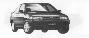 MAZDA FORD LASER 1990 г.