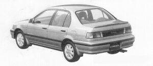 TOYOTA CORSA 1991 г.
