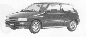 DAIHATSU CHARADE 1991 г.